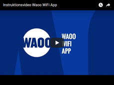 Video WAOO WiFi app