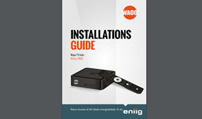 INSTALLATIONSGUIDE Waoo TV-boks AirTies 7410X